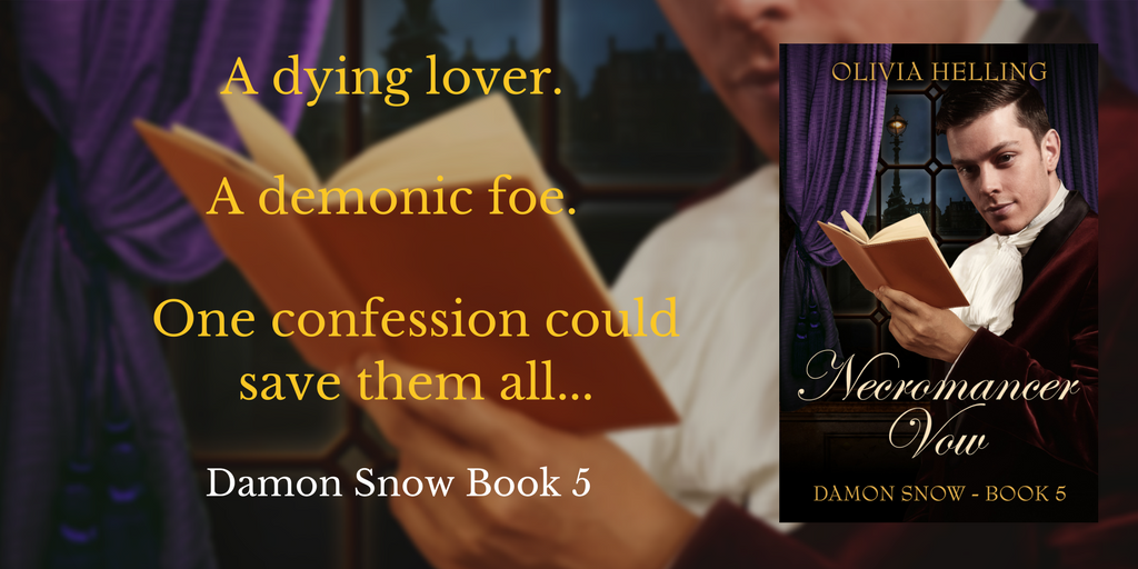 A dying lover. A demonic foe. One confession could save them all...