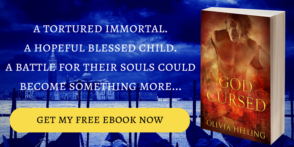 A tortured immortal. A hopeful blessed child. A battle for their souls could become something more. Click to get your free ebook now.