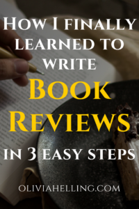 How to write a book review